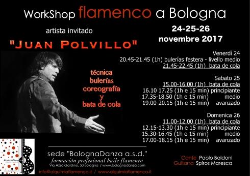 Juan Polvillo stage