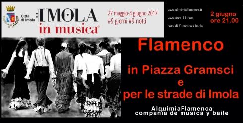Volantino Imola in musica 2017