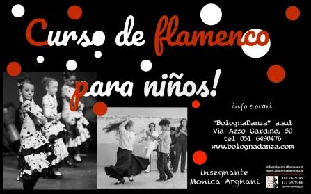 corso flamenco bambini BolognaDanza