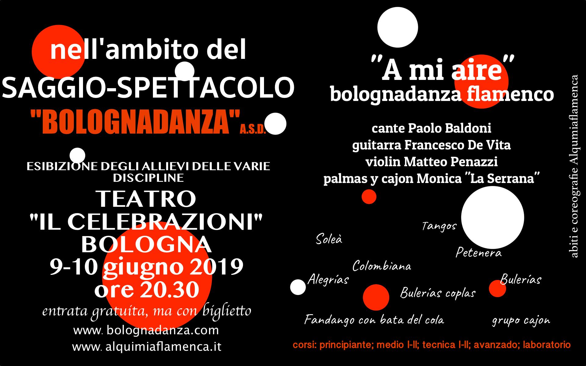 saggio spettacolo bolognadanza 2019