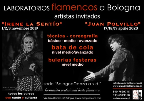 Workshop flamenco 2019/2020